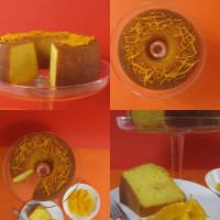 Orange Cake- flavor that goes far beyond it's innocent appearance.