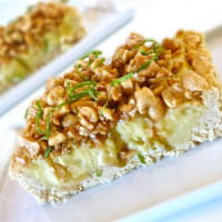 A slice of Coconut Tart that brought back memories of my trip to South East Asia