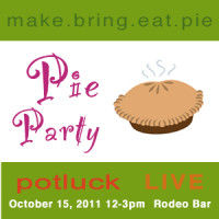 Pie Party Potluck LIVE