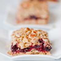 Brown Butter Walnut-Cranberry Bars