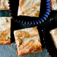 Butterscotch-Banana Blondies
