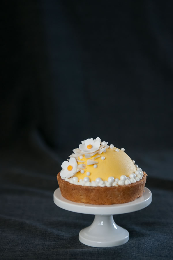 luck be a … mango mousse tart