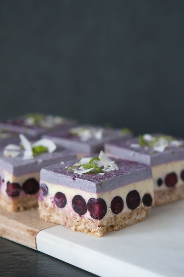 Back and Inspired – Blueberry-Lime Cream Bars